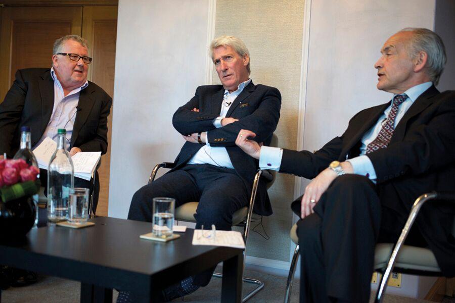 Steve Hewlett, Jeremy Paxman, Alastair Stewart