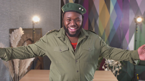 Samson Kayo as Colonel Banjoko (Credit: Channel 4)