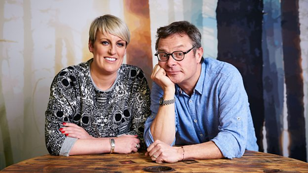 Steph McGovern and Hugh Fearnley-Whittingstall (Credit: BBC)