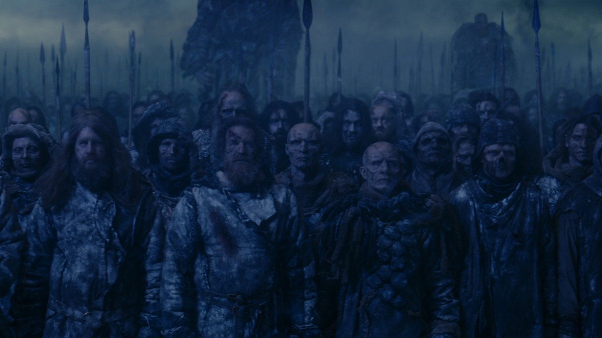 A horde of Wights (Credit: HBO/Sky)