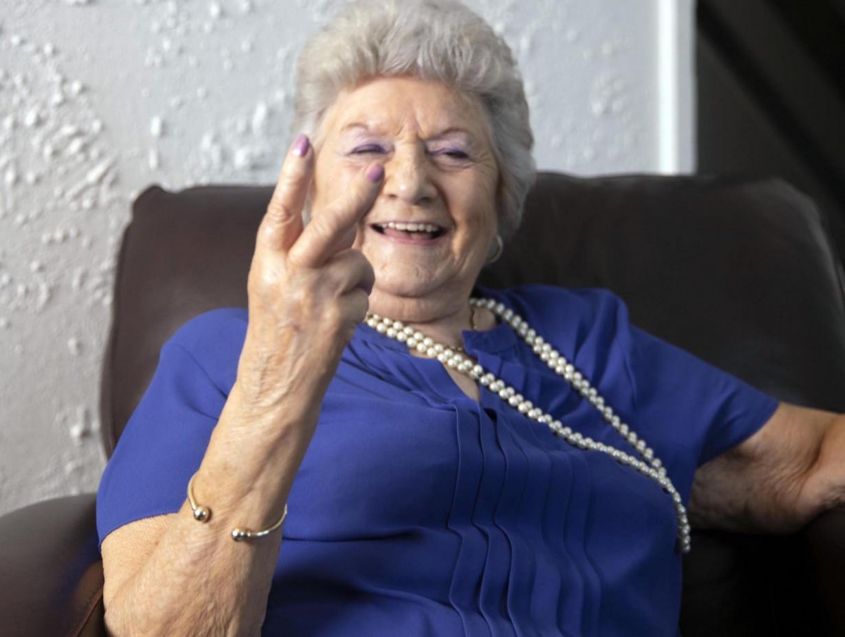 "Margie ""Grime Gran"" (Credit:Channel 4)"