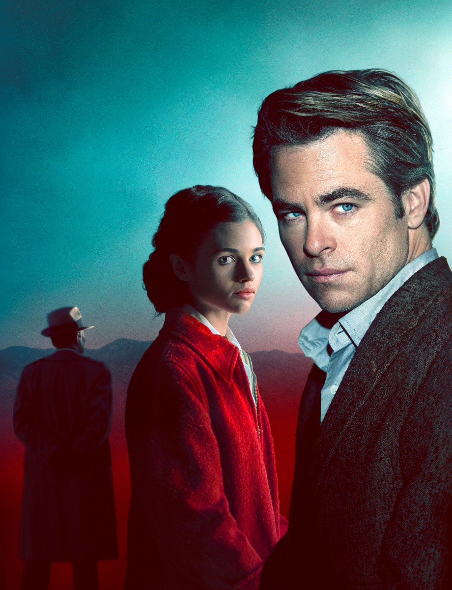Chris Pine and India Eisley (Credit: UKTV)