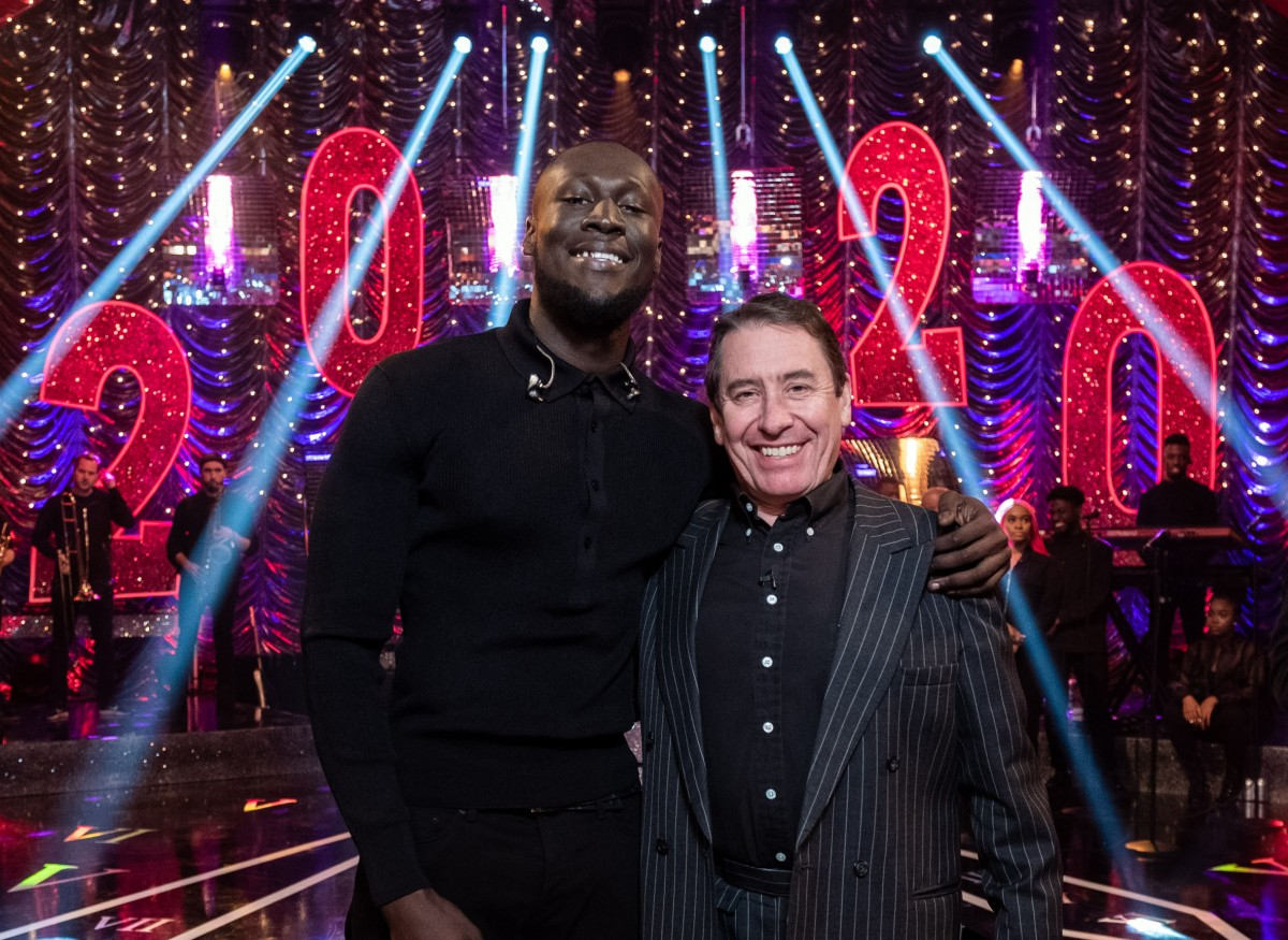 Jools Holland with Stormzy (credit: BBC)