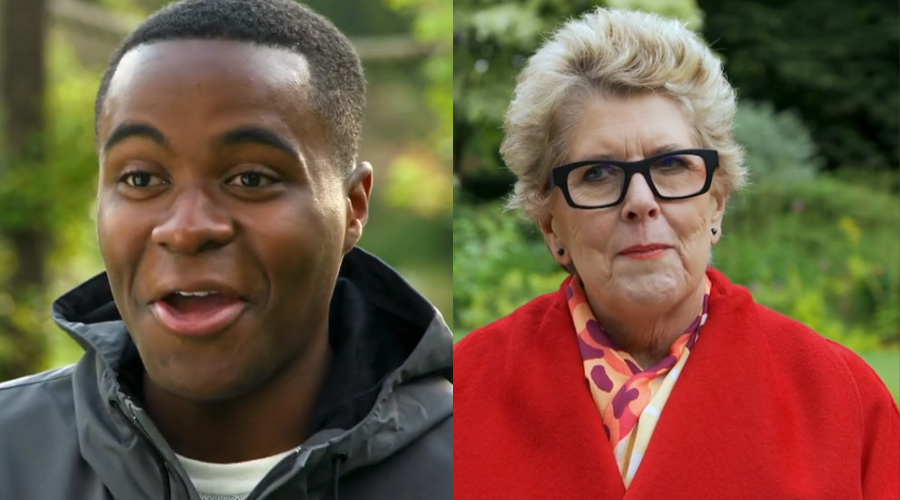 Liam Charles and Prue Leith (Credit: Channel 4)
