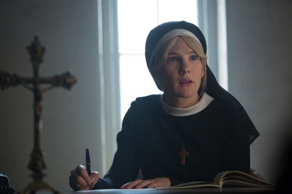 Sister Mary Eunice (Lily Rabe) (Credit: Michele K.Short and FX)
