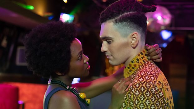 Masali Baduza and Jack Rowan (Credit: BBC)