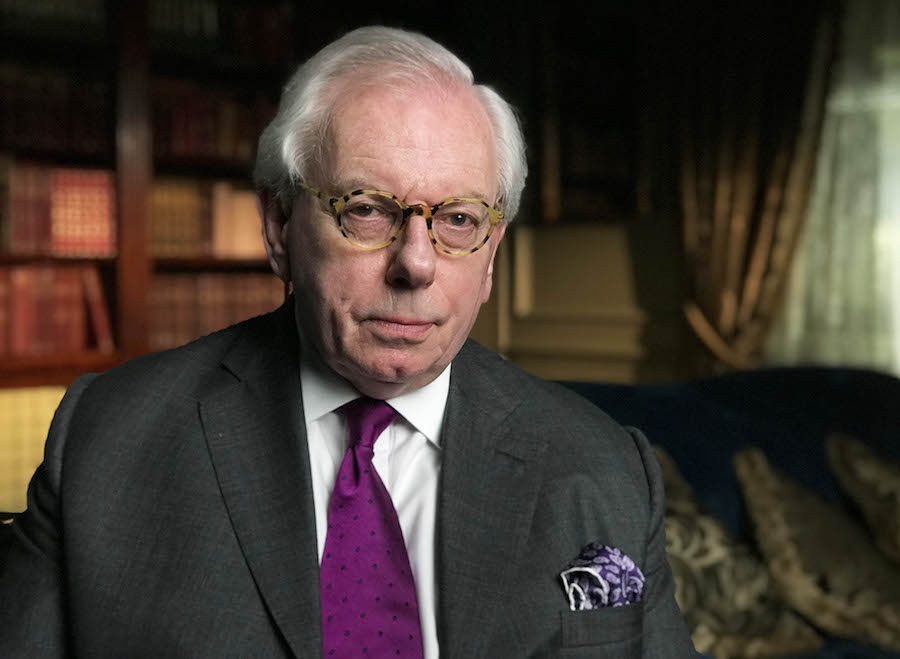 Historian David Starkey Is Among The Historians Sharing Their Views Of The Royal Wives Of Windsor Credit Itv