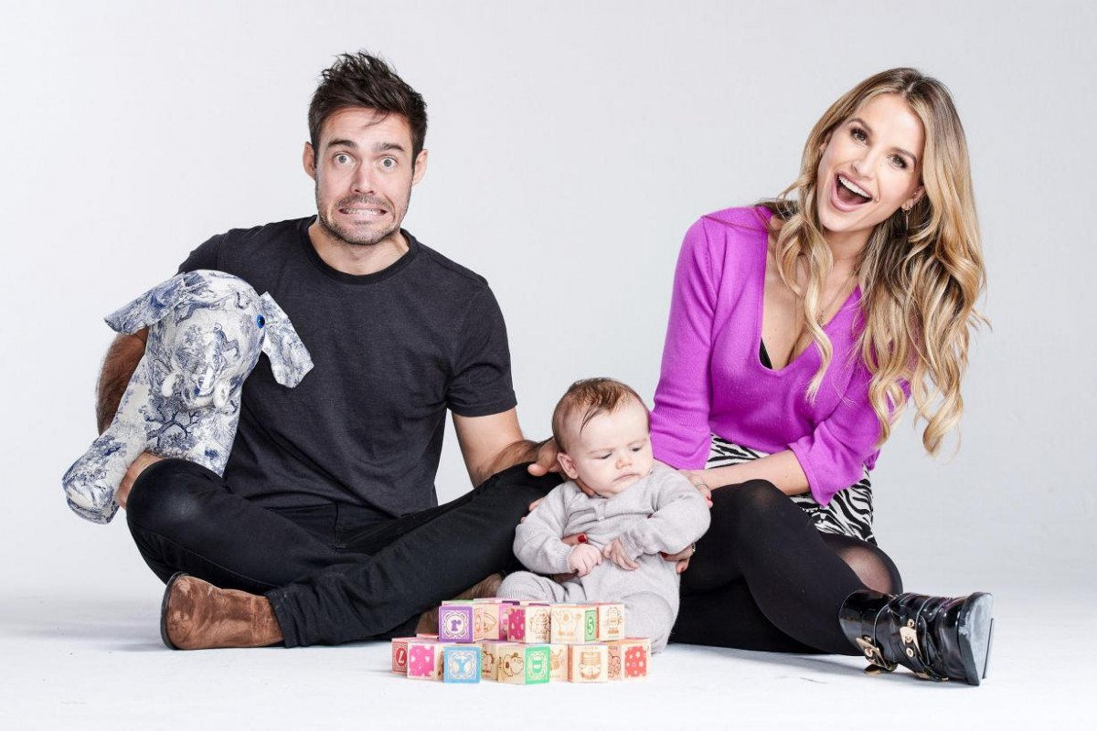 Spencer Matthews, Vogue Matthews and Theodore Matthews (Credit: Channel 4)