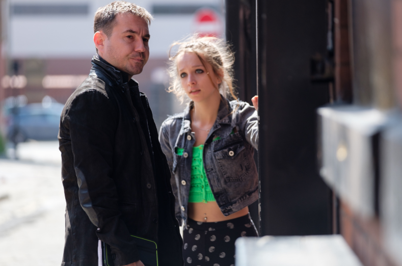 Martin Compston and Molly Windsor (Credit: UKTV)