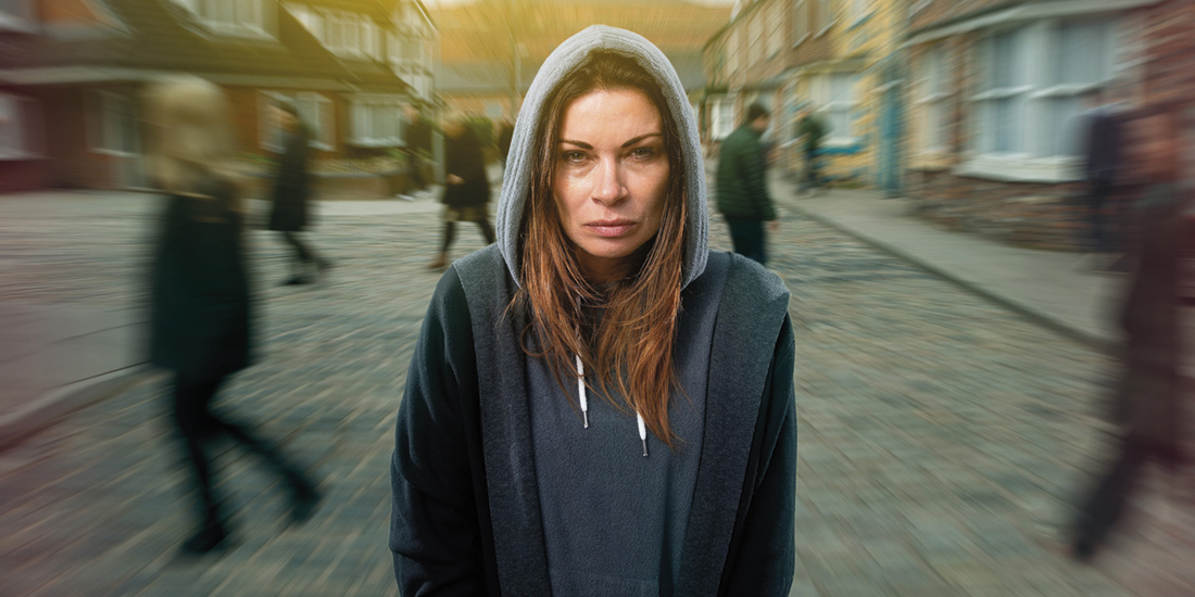 Alison King plays Carla Conner in Coronation Street (Credit: ITV)