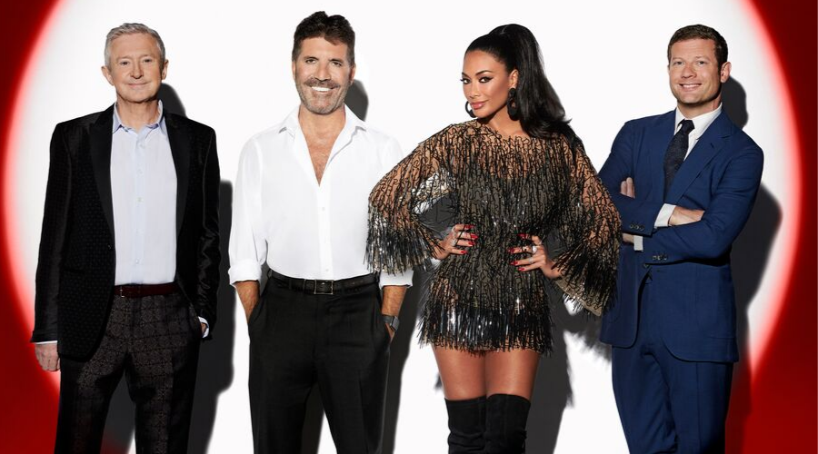 Louis Walsh, Simon Cowell Nicole Scherzinger and Dermot O'Leary