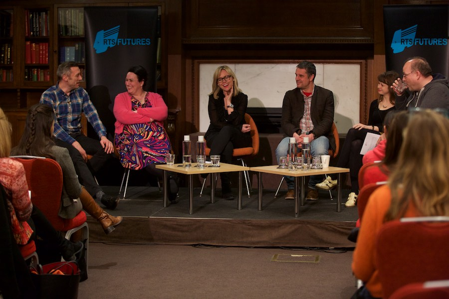 The panel of the RTS Futures event 'Runner to Superstar' shared their advice