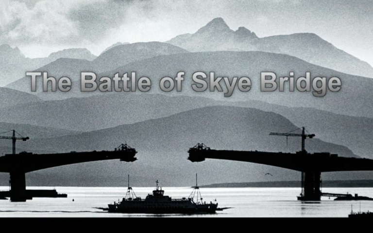 The Battle of Skye Bridge