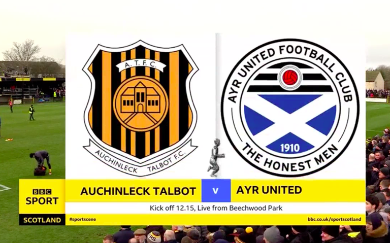Sportscene Scottish Cup Fourth Round: Auchinleck Talbot v Ayr Utd