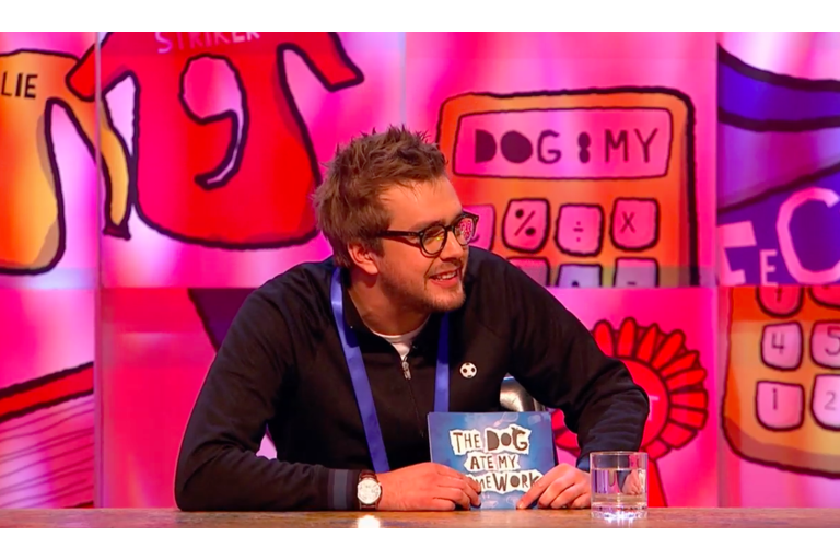 Iain Stirling for The Dog Ate My Homework