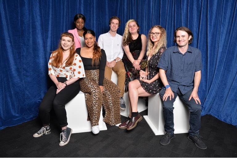 Alana Volavola, Freddie Berman, Ben Holmes, Jade Elwood, Sophie Masterman and Team (Credit: Richard Kendal/RTS)