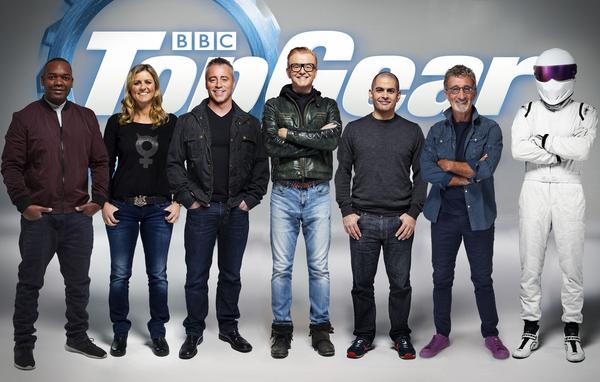 BBC, Top Gear, Matt LeBlanc, Chris Evans, Sabine Schmitz, Eddie Jordan, Rory Reid, Chris Harris, Stig