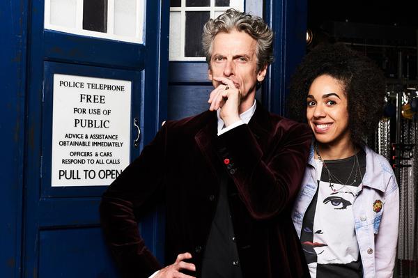 Doctor Who, TARDIS, Pearl Mackie, Peter Capaldi