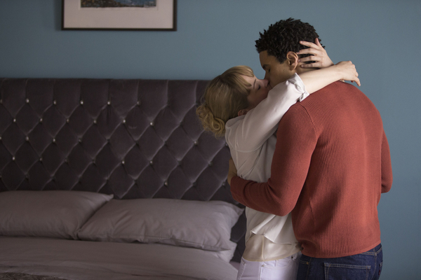 Kimberley Nixon and John MacMillan star in Ordinary Lies (BBC/Red Productions/Adrian Rogers)