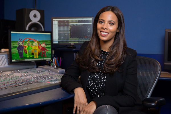 Rochelle Humes Teletubbies