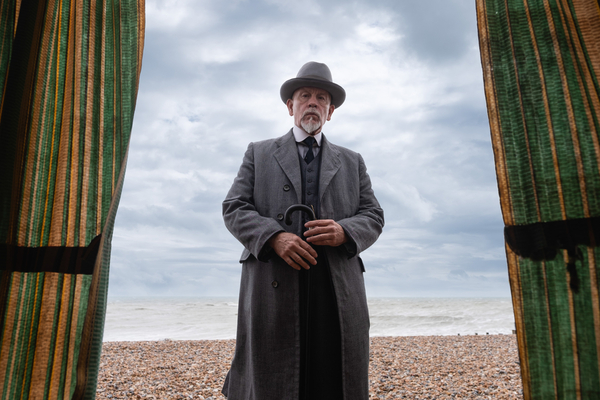 Hercule Poirot (John Malkovich) (Credit: BBC/Mammoth Screen/Agatha Christie Ltd)