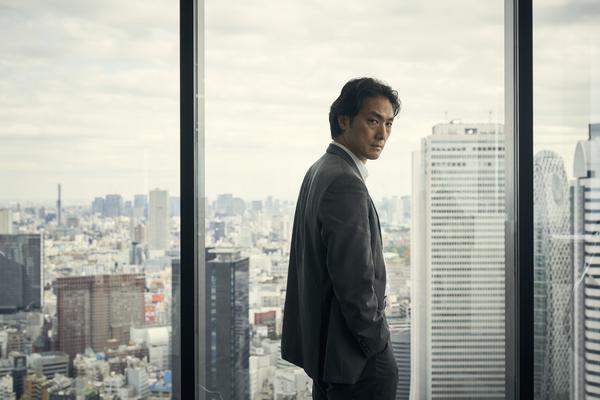 Takehiro Hira as Kenzo in Giri/Haji (Credit: BBC)