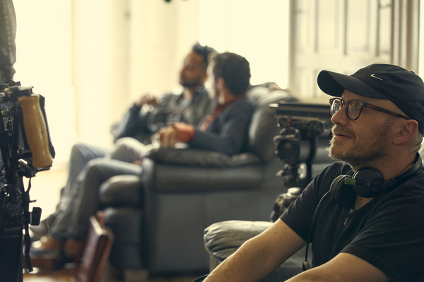 Lenny Abrahamson on the set of Normal People (credit: Element Pictures/ Enda Bowe)