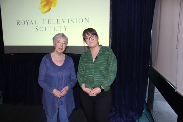 RoI chair Agnes Cogan and Jess Kelly