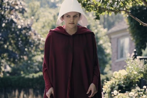 Elisabeth Moss stars as Offred (Credit: Channel 4)