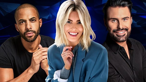 Marvin Humes, Mollie King and Rylan Clark-Neal (Credit: BBC)
