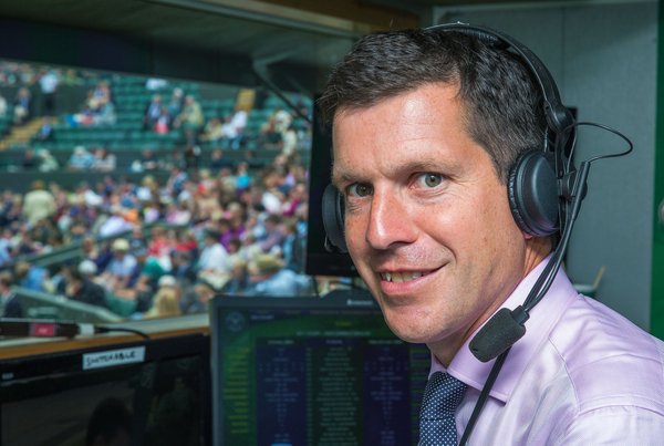 Tim Henman at Wimbledon