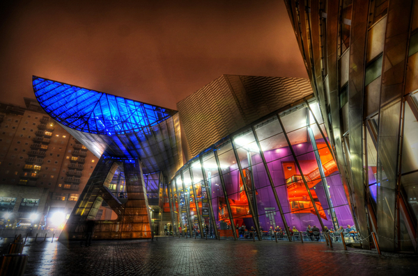 The Lowry Theatre, Salford, North West, RTS North West Student Awards, television,