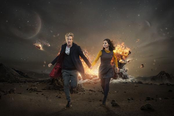 Doctor Who, Dr Who, Peter Capaldi, Clara Oswald, Jenna Coleman