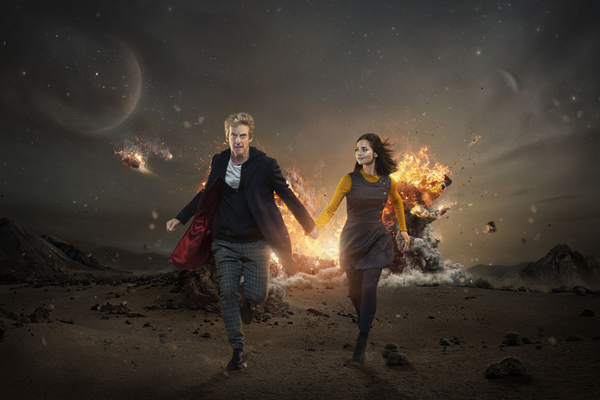 Doctor Who, Dr Who, Peter Capaldi, Clara Oswald, Jenna Coleman