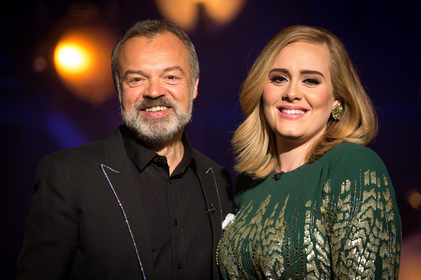 Graham Norton and Adele (Credit: BBC)