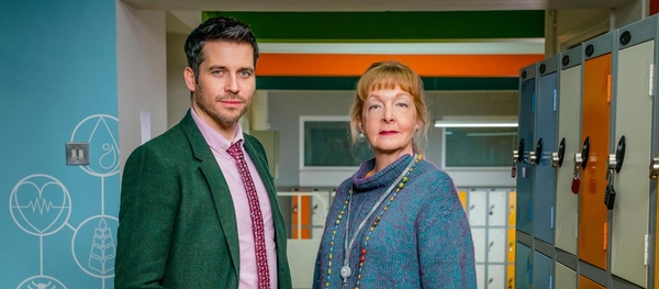 Robert James-Collier and Charlie Hardwick (Credit: Channel 4)