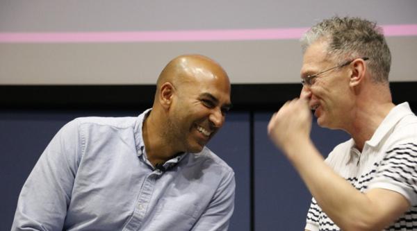 Amar Latif and Glyn Middleton (Credit: Joe Greenough)