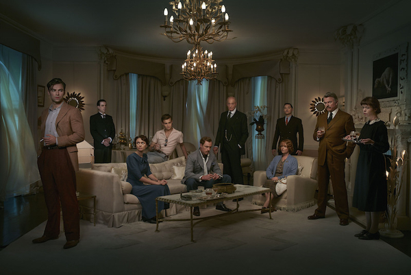 The cast of And Then There Were None (Credit: BBC)