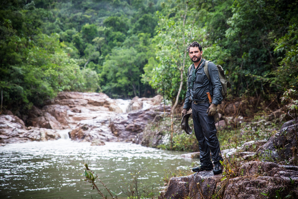 Levison Wood walks through Central America (Credit: Simon Buxton / Channel 4)