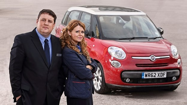 Car share, Peter Kay, Sian Gibson