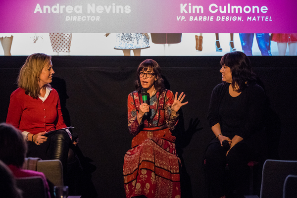 Caroline Frost, Andrea Nevins and Kim Culmore (Credit: Paul Hampartsoumian)