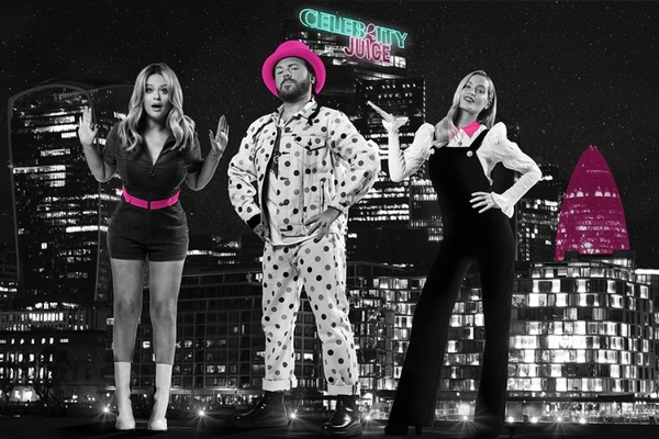 Emily Atack, Keith Lemon and Laura Whitmore (Credit: ITV)