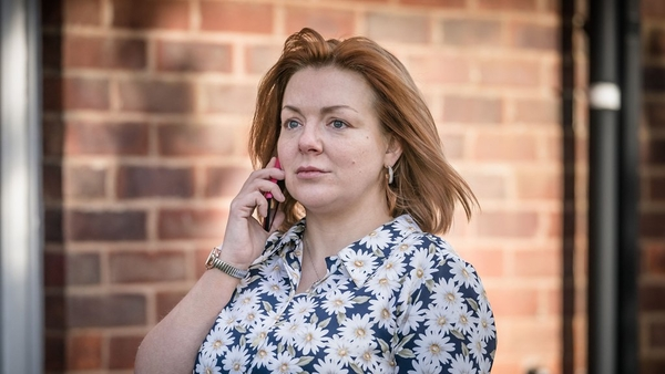 Sheridan Smith as Sarah Sak in The Barking Murders (w/t) (Credit: BBC)