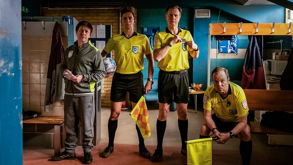 Reece Shearsmith and Steve Pemberton joined by David Morrissey in Inside No.9 (Credit: BBC)