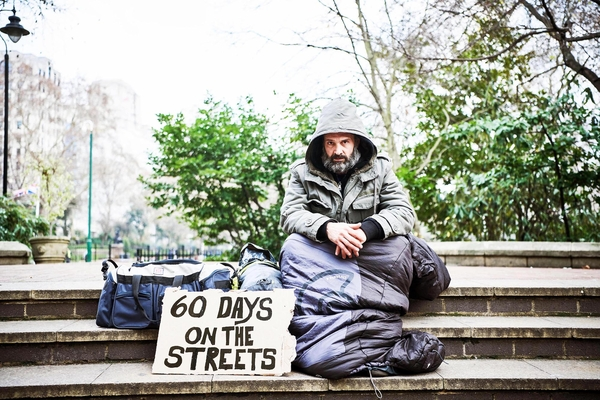 Ed Stafford will explore homelessness for Channel 4 (Credit: C4)