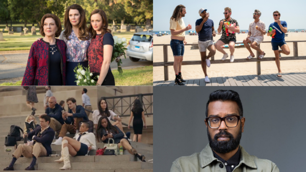 Gilmore Girls: A Year in the Life (Credit: Netflix), Queer Eye (Credit: Netflix) Weakest Link (Credit: BBC), Gossip Girl (Credit: HBO Max)