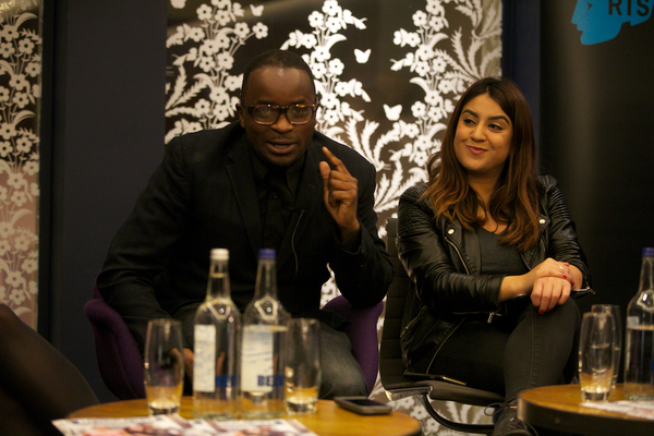 RTS Futures and Broadcast Magazine BAME Hotshots Christmas Party at the Hospital Club