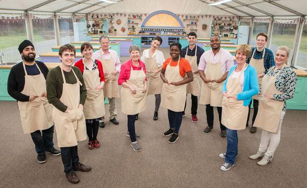 The GBBO cast (Credit: BBC)