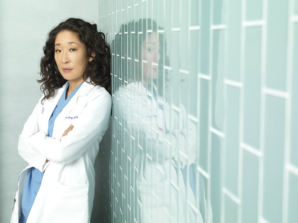 Sandra Oh starred in Grey's Anatomy as Cristina Yang (Credit: Sky/ABC/Bob D'Amico)