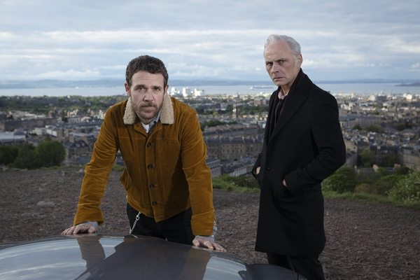 Jamie Sives and Mark Bonnar in Guilt (credit: BBC)